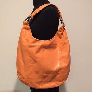 HOBO Orange Tote Shoulder Bag